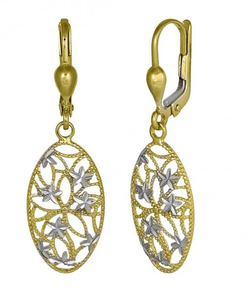 <em>10K Star Drop Earrings; $159 </em>